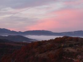 Petit matin d'automne vue de la Miellerie Nov 2010