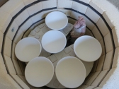 Dans le four ! into the kiln !